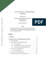 Bijan Sahamie- Introduction to the Basics of Heegaard Floer Homology