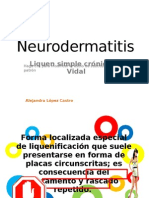 Neurodermatitis Alopecia - López Castro