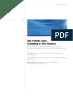 SAS Competing on Web Analytics