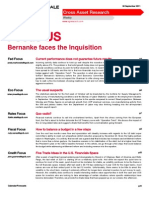 Bernanke Faces Inquisition