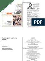 Gabriel Gutierrez Pantoja - Metodologia de Las Ciencias Sociales 1