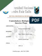 Controladores Biológicos de Insectos Plaga