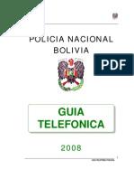 Guia Telefonica de la Policia Nacional