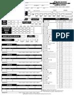 Character Sheet - Sorcerer v3.5