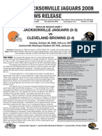 Browns-Jacksonville Game Notes (Jags)