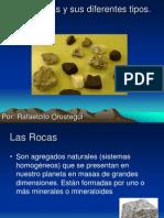 Las Rocas y Sus Diferentes Tipos