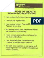 MM - Attitudes of Wealth --Winning the Money Declarations