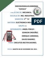 Informe de electrónica industrial 3