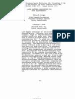 Laser Doppler Anemometry for Flow Measurement