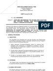 HDMF Guidelines