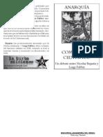 Anarquismo y comunismo científico. Luis Fabbri
