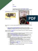 Multímetro o polímetro analógico.brenzam