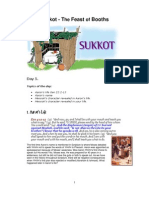 the feast of sukkot - day 5