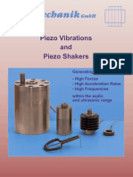 15 Piezo Vibrations Shakers