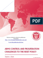 Arms Control and Proliferation Challenges to the Reset Policy