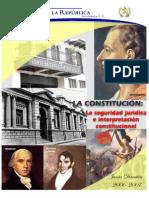 Reflexiones Políticas II | Seguridad Jurídica e Interpretación Constitucional