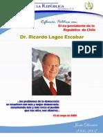 Reflexiones Políticas I | Reflexion política con el Ex-presidente de la República de Chile, Dr. Ricardo Lagos