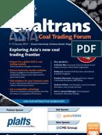 Asia Coal Trading Forum 2012