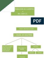 Cuadro Sinoptico de Causales de Separacion Civil