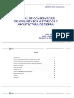 Manual de Conservación de Monumentos Históricos