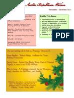 NWARW Newsletter December 2011