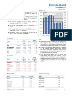 Derivatives Report 5th December 2011