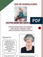 Depresión en paciente Geriatrico