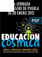 PROGRAMA GENERAL 7 Jornada Montessori 2012
