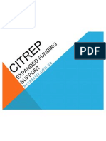 CITREP Expanded Funding Support