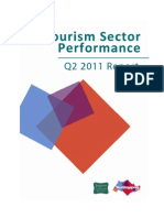 Tourism Performance Quarterly Report for q2 2011