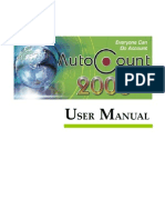 AutoCount 2006 User Manual