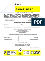 Dursban 480 Ec Label