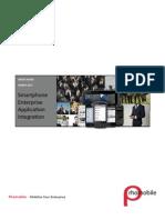 Smart Phone Enterprise Application Integration