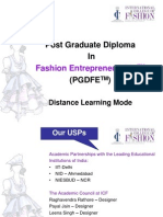 PGDFE Distance Learning
