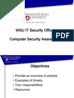 Computer Security Awareness Part 1