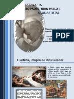 Carta de JpII a Los Artistas