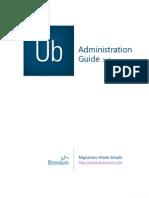 Unibrows Administrator Guide v1 2 0