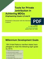 CSR & MDG