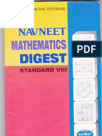 Navneet Maths Digest Std 8th