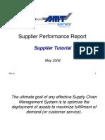 Supplier Tutorial