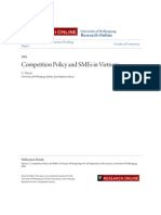 Competition Policy and SMEs in Vietnam