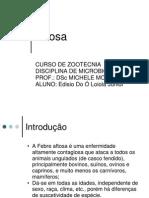 Microbiologia Aftosa