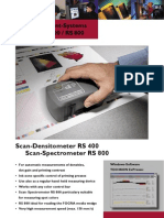 Scan Densitometer