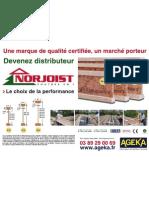 Devenir distributeur - Norjoist - Ageka