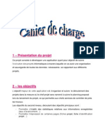 Petite Correction Du Cahier de Charge
