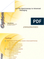 Applications of FTIR to Advanced Packaging Final