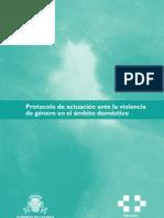 Protocolo de actuación ante la violencia de género-Gobierno de Canarias