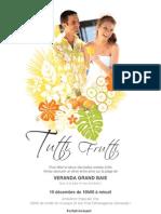 Tutti Frutti Dinner Veranda Grand Baie Mauritius