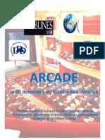 ARCADE - Dossier de Presse