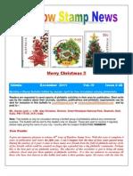Rainbow Stamp News December 2011